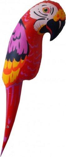 Aufblasbarer Papagei 110 cm, Sommer Strand Beach Hawaii Deko