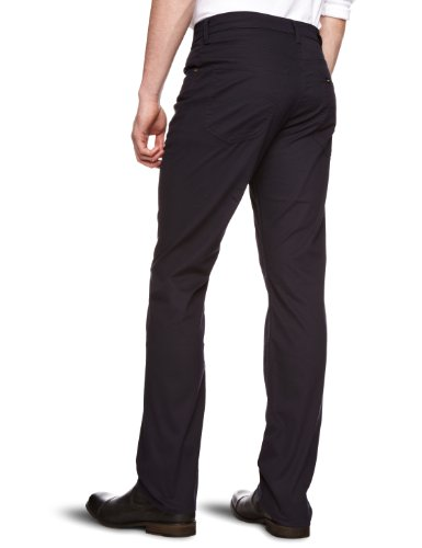 Lee - Brooklyn Stretch - Jeans droit - Homme Bleu (Black - Night Shadow)