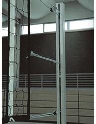 Grevinga® Volleyball-Pfosten nach EN 1271 mit Spindel-Spannmechanik