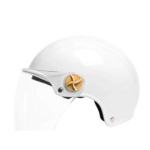 Preisvergleich Produktbild LSI SHOP Motorradhelm,  Elektrofahrzeughelm,  Erwachsenenhelm,  personalisierter Helm,  Herren- und Damenhelm (transparente Linse) (Color : 4)