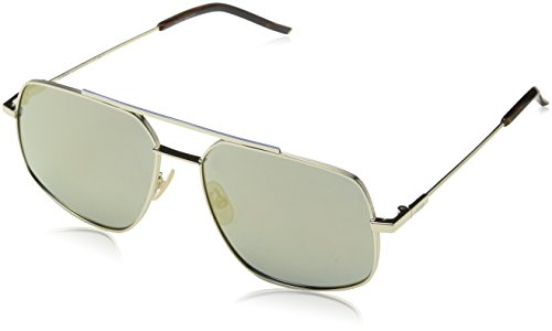 Fendi ff m0007/s jo 3yg 58, occhiali da sole uomo, oro (light gold/gy grey)