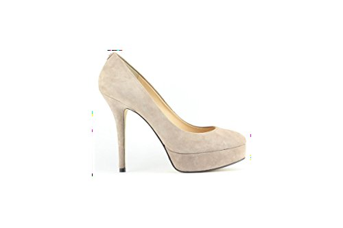 Guess scarpa donna elegante in camoscio punta tonda. Modello FL4ELSSUE08. Beige