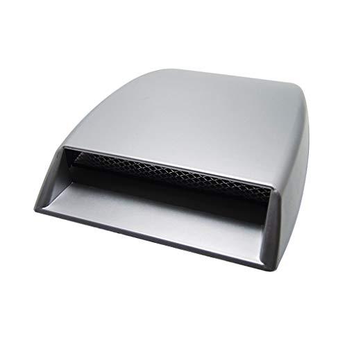 Aiming Auto dekorative Air Flow Intake Hood Scoop Vent Car Bonnet Entlüfterelement Dekor Autoschmuck -