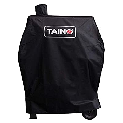 TAINO Hero XL BBQ Smoker GRILLWAGEN Holzkohle Grill Grillkamin Standgrill Räucherofen Zubehör Gusseisen