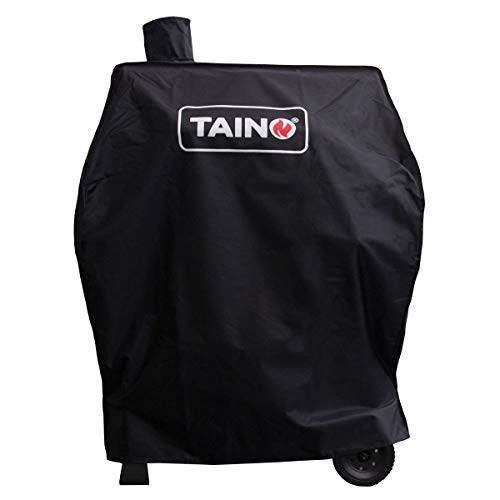 TAINO Hero XL BBQ Smoker GRILLWAGEN Holzkohle Grill Grillkamin Standgrill Räucherofen Zubehör Gusseisen (Abdeckung)