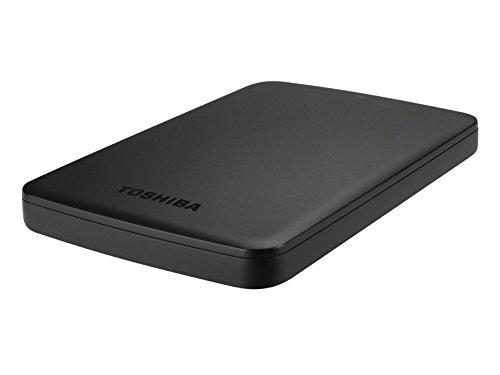 Toshiba Canvio Basics 500 GB Mobile Festplatten (6,4 cm (2,5 Zoll), USB 3.0) schwarz
