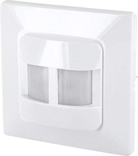 Unterputz IR Bewegungsmelder 180° - 2-Draht - LED geeignet - für UP-Dosen Ø 60mm und Hohlwanddose Ø 68mm