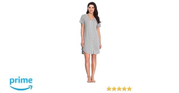 Damen Nachthemd Größe 38//40 42//44 Big Shirt Schlafshirt Nachtwäsche .