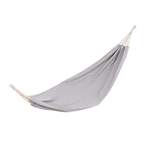 BUTLERS Relax Hängematte im Stoffbeutel in Grau - Tuchhängematte Outdoor 200x100 - Matte zum Aufhängen bis 100 kg Belastung