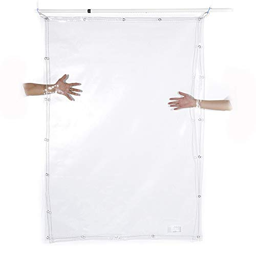 Lona- Transparente - Lonas Transparentes Impermeables Resistentes para Tiendas de campaña, Cubierta...