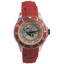 Watch with silicone strap Tintin travel 82414 (2012)