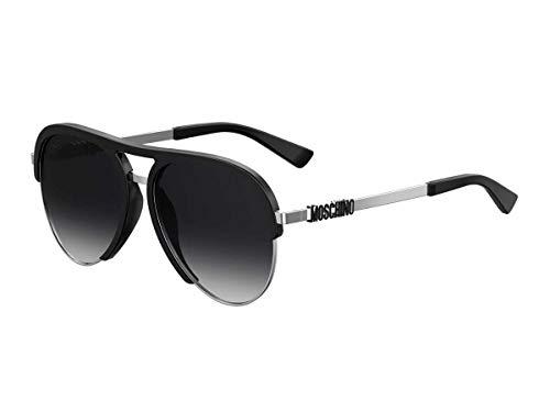 Moschino Herren Sonnenbrille Schwarz Schwarz