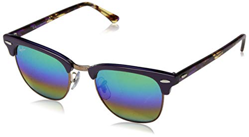 Ray-Ban Herren Sonnenbrille, Violett (Metallic Medium Bronze), 51 millimeters