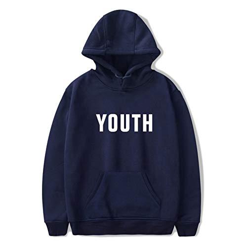 WTZFHF Unisex Hoodies Sweatshirts Shawn Mendes, Youth' Frühling Lässig Kapuzenpullover Mit Tasche Mädchen Baumwolle Sweatshirts Fan Pullover Für Frauen Männe Youth Hoodie