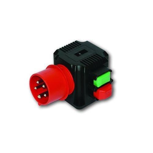 PC-Electric PCE201620 AP Gerätestecker 5x16A m.Schalter für Motoren bis 4kW IP44