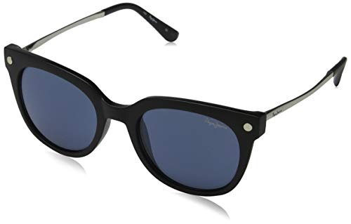 Pepe Jeans Damen Marcela Sonnenbrille, Schwarz (Black/Blue), 52.0