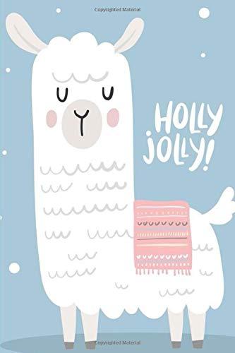 Holly Grid (Holly Jolly!: White Llama Alpaca Bullet Journal (Bullet Journals/ Dot Grid Journals, Band 1))