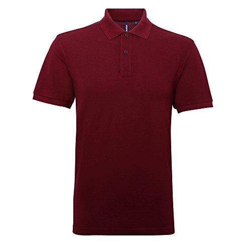Asquith&Fox Herren Poloshirt Violett