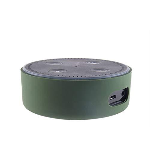 TAOtTAO Silikon ultradünne Schutzhülle für Amazon Echo Dot 2 Silikonhülle (E)