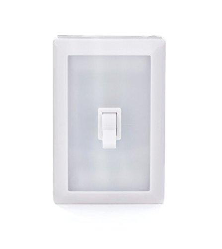 Kikkerland klp56-eu Switch Light, plástico, blanco