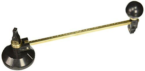 40 cm Max. Redondo diámetro brújulas cortador de círculos de cristal Circular