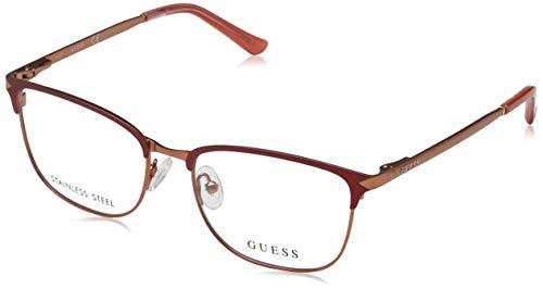 Guess Damen Brille Gu2588 51067 Brillengestelle, Kupfer, 51