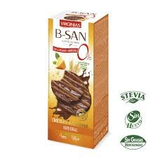 Virginias B-San Digestive Chocolate With Orange Non Added Sugar With