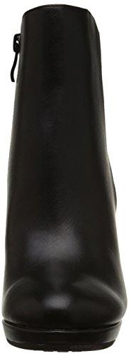 Buffalo Y436-51B, Boots compensées femme Noir (Black 01)