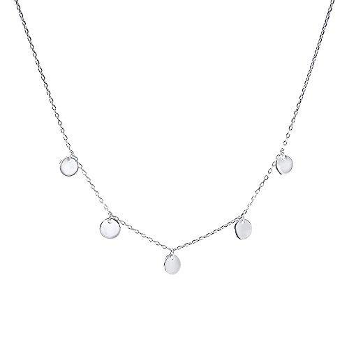 1cb3c1286da8 Purelei Halsketten Für Frauen Kalea-Silver Kette Damen Schmuck Ketten  Anhänger Geschenke Freundin Halskette Rosegold