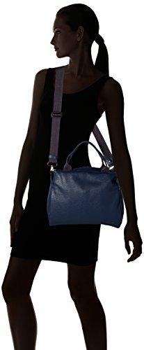 Mandarina Duck - Mellow Leather Tracolla, Borse a spalla Donna Blu (Eclipse)