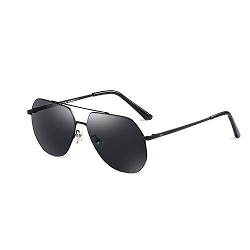 JMTLLTYJ Sonnenbrille Männer, UV-polarisierte Sonnenbrille Outdoor Driving Fishing Herren Aviator Sonnenbrille