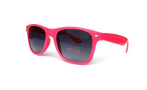 50er 60er 80er 90er Jahre Vintage Sonnenbrille Sommerbrille Clubmaster Style Rockabilly Trend 2017 2018 Mode Fashion Fashionbrille Designer Brille pink neon schwarz neonpink