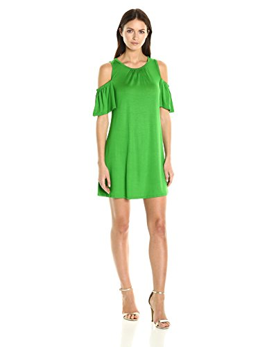 trina-turk-womens-lianet-must-have-jersey-cold-shoulder-dress-mojito-xs