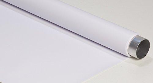 VINYL-HINTERGRUND Weiß 150CMX400CM