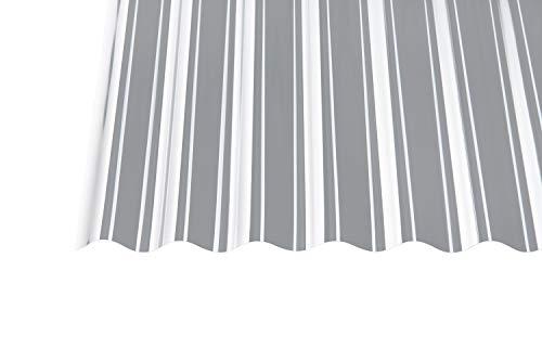Polycarbonat Wellplatten Profilplatten Sinus 76/18 klar ohne Struktur 3000 x 1040 mm