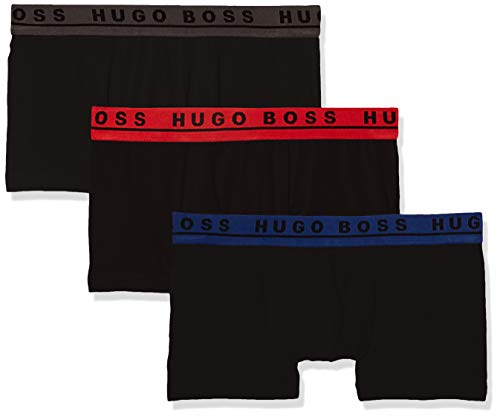 BOSS Men's Trunk 3p Co/el Boxer ...