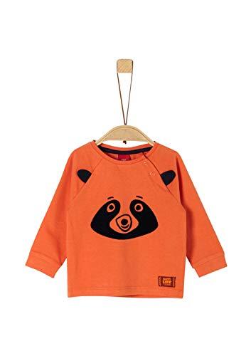 s.Oliver Baby-Jungen 65.909.31.8918 T-Shirt, (Orange 2370), (Herstellergröße: 74)
