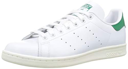 adidas Stan Smith, Scarpe da Ginnastica Uomo, Bianco Ftwr off White/Bold Green, 40 EU