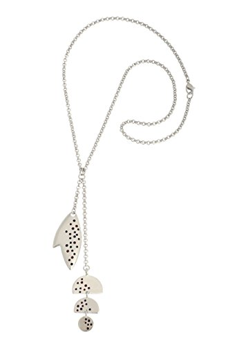 jenniferlovey handgefertigt Halskette rhodiniert Fisch Epoxy Dots Einzigartiges Geschenk