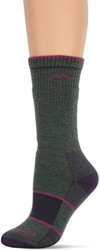 Darn Tough Vermont Hiker Boot Full Kissen Socke Small Moss Heather (Aus Vermont Socken)