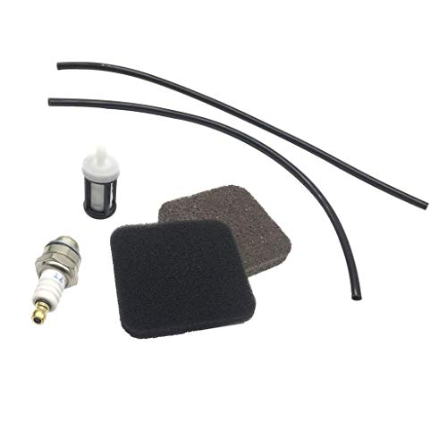 SGerste Motorsense Service Kit Kraftstoffleitungen Filter Zündkerze für Stihl FS80 FS85 FS74