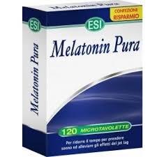 Offerta ESI Melatonin Pura 1Mg 120 Tavolette Relax Sonno Melatonina 4 MESI