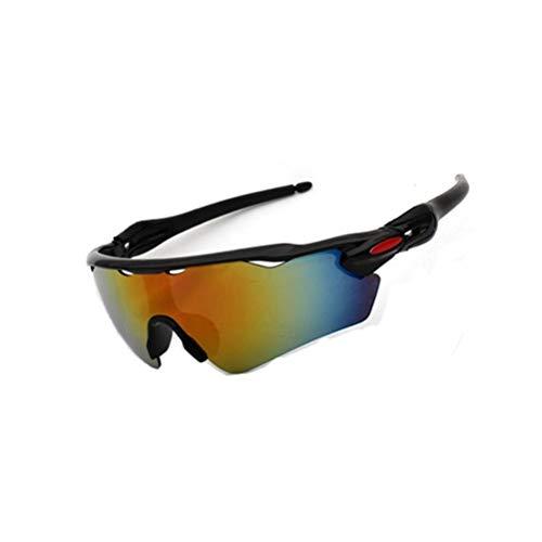 Radsportbrille Unisex Winddicht Staubdicht Sanddicht UV-Schutz Motorrad Fahrrad-Schutzbrille Ausrüstung Zum Laufen Angeln