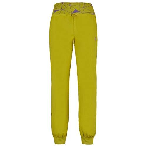 Pantalones amarillo pistacho mujer