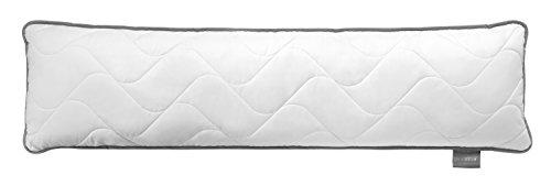 *Traumnacht Topcool Seitenschläfer-/ Still-/ Schwangerschaftskissen, mit atmungsaktiver TopCool Funktionsfaser, 40×145 cm, Weiß*