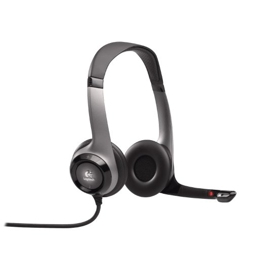 Logitech ClearChat Pro Wired Headphone (Grey)