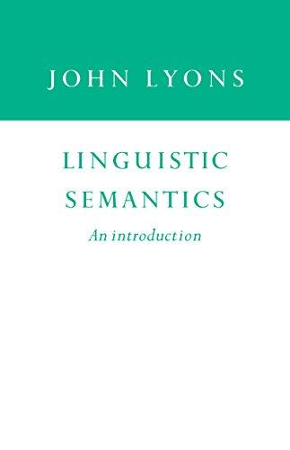 Linguistic Semantics: An Introduction (English Edition)