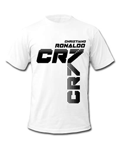Ronaldo 7 Football Champion Real Madrid Christiano Ronaldo CR7 T-Shirt  (Small 5de9cf328