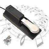 Universal Sustainpedal Sustain Pedal Dämpferpedal Fußpedal Pedal Fußschalter für Keyboard Piano TASTER Klavier
