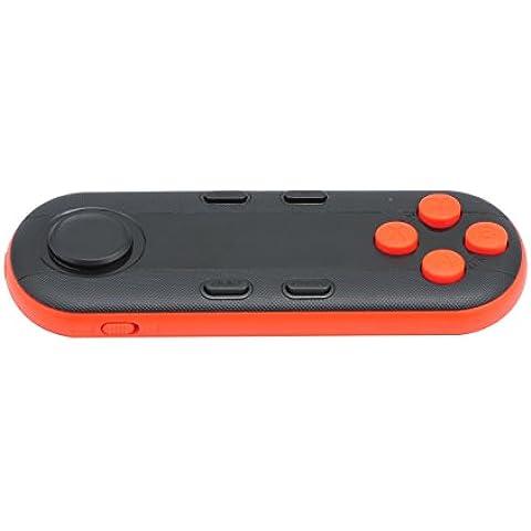 QUMOX Mini 3D VR GamePad inalámbrica Bluetooth para el sistema Android IOS, Naranja & Negro